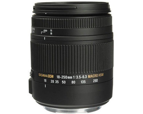 Sigma AF 18-250mm F3.5-6.3 DC Macro OS HSM for Canon EF-S